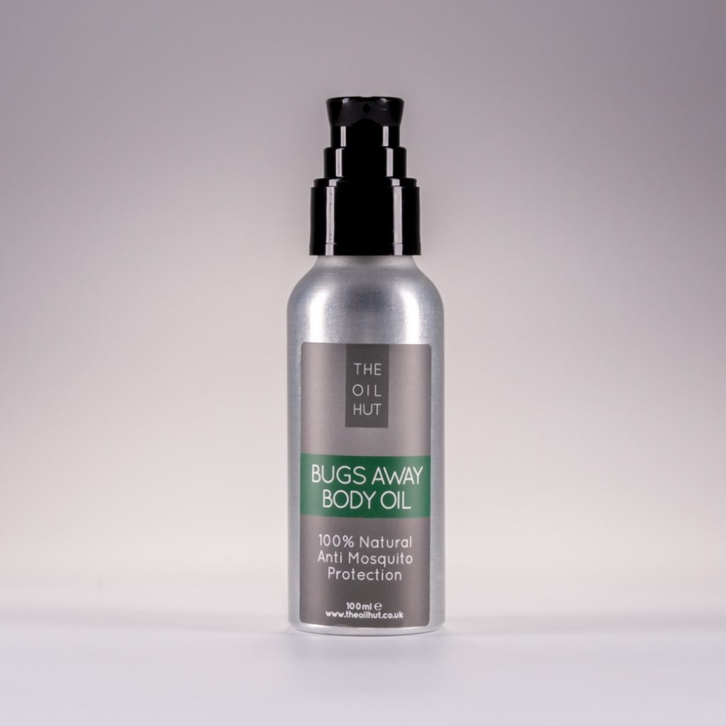 The Oil Hut 100% Natural Bugs Away Body Oil Insect And Bug Repellent