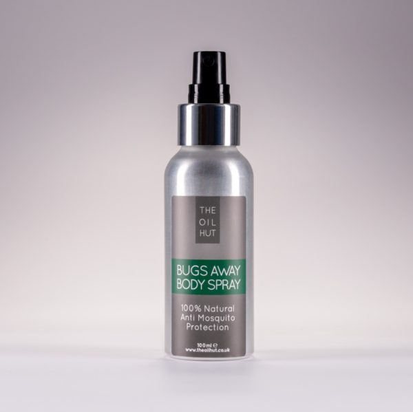 The Oil Hut 100% Natural Bugs Away Body Spray Insect Repellent