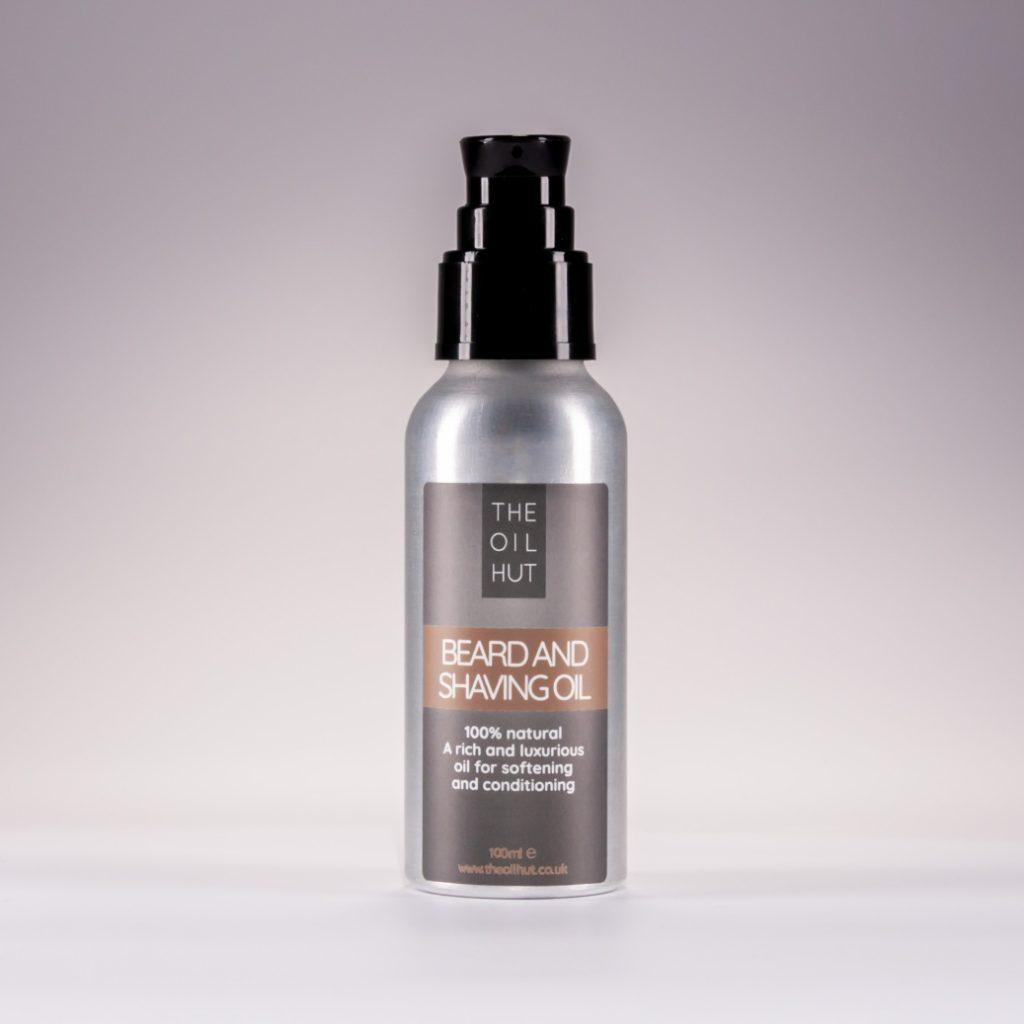 The Oil Hut 100% Natural Beard And Shaving Oil
