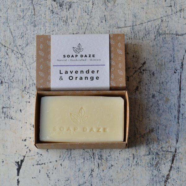 Lavender And Orange Vegan Soap